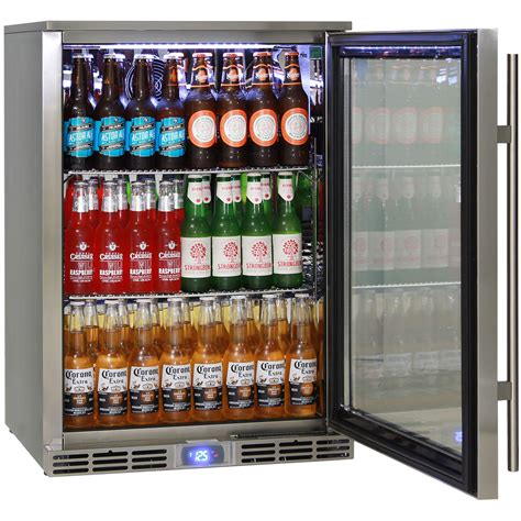 Bar With Refrigerator by Rhino Energy Efficient Alfresco All Stainless Outdoor