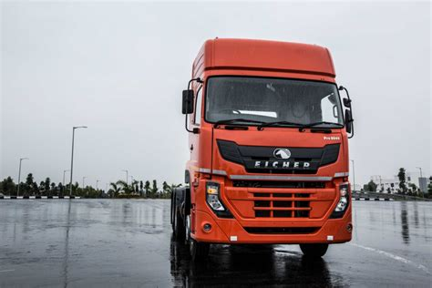 volvo truck bus volvo eicher showcases a new series of trucks and buses