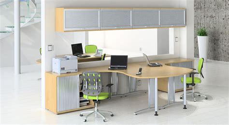 Two Person Office Desk Home Furniture Design Home Office With Two Desks