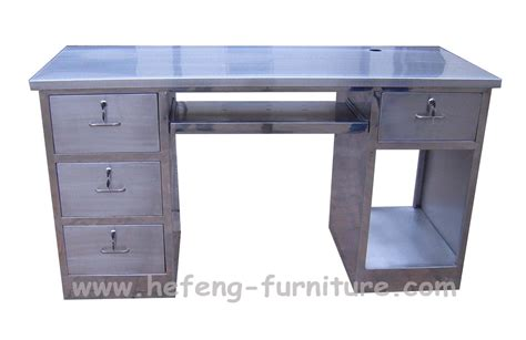 China Stainless Steel Office Table China Stainless Steel Steel Office Desk