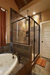 Master Bathroom Tile Ideas by Slate Bathroom Ideas Slate Tile Shower Bath Combo Wall