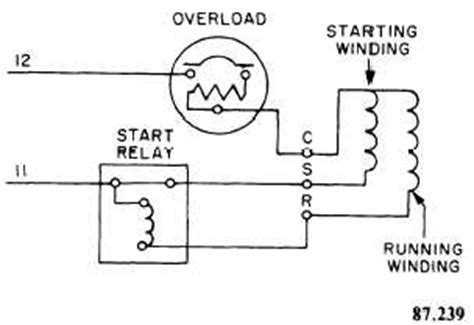 single phase compressor wiring diagram refrigeration single phase refrigeration compressor