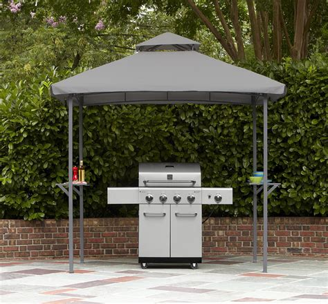 Backyard Grill Gazebo by Grill Gazebo With Glass Bar For The Grilling Expert From Sears