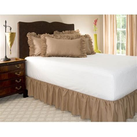 twin xl bed skirt extra long bedskirts discounted buy best twin xl camel
