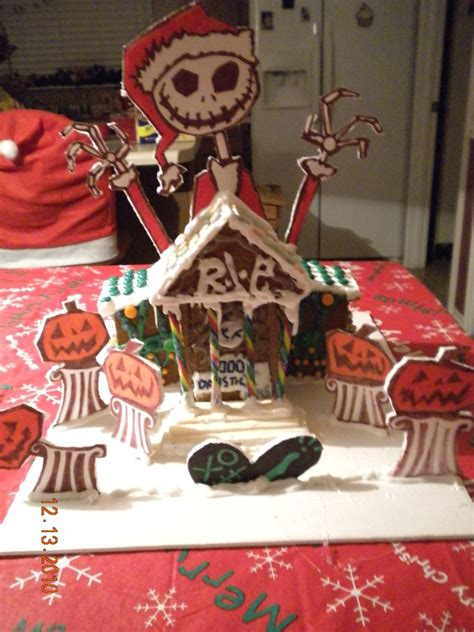 christmas gingerbread house to buy nightmare before christmas gingerbread house by jlocke92 on deviantart