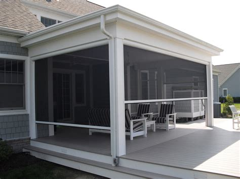 Sunroom Porch Ideas Remote Controlled Screen Porch By Screenmobile Remote