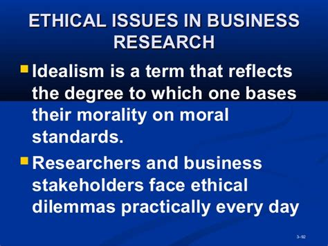 Ethical Dilemma Question Mba by Mba2216 Business Research Week 3 Research Methodology 0613