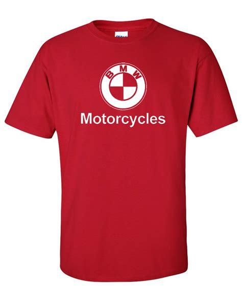Bmw Motorrad Logo For Tshirt Putih bmw motorcycle logo graphic t shirt supergraphictees