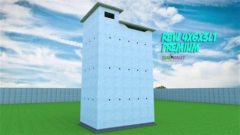 desain rumah walet  lantai  premium youtube