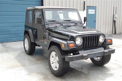 1998 Jeep Wrangler Top Purchase Used Warranty 1998 Jeep Wrangler 4x4 5 Speed