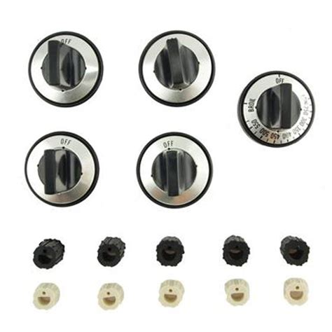 Gas Range Knobs Replacement by Aqua Plumb Replacement Gas Range Knob Set Fits Most Brand