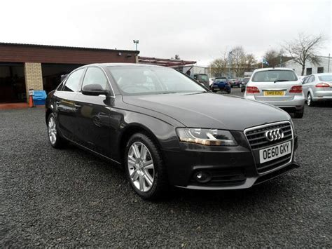 audi a4 for sale 2010 used audi a4 2010 automatic diesel 2 0 tdi 143 se grey for
