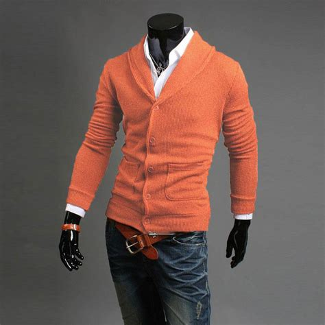 Jaket Sweater Parka 2pocket knitted v neck button pocket knitwear coat jacket sweater cardigan ebay