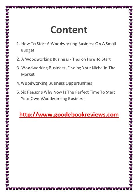 how to start a small woodworking business how to start a woodworking business on a small budget