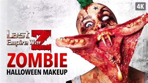 last empire war z tutorial last empire war z zombie halloween makeup tutorial youtube