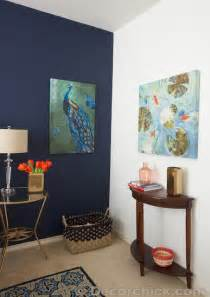 Blue Accent Wall by Dark Blue Accent Wall Bedroom Images