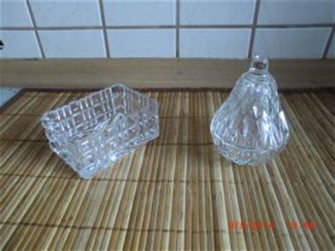 glas kristall kristall schuesseln schalen