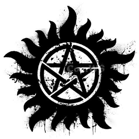supernatural tattoo png anti possession symbol splatter by magestiles on deviantart