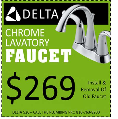 Faucet Coupon by Plumbing Coupons Theplumbingpro