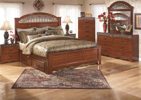 ashley lakeleigh collection b718 bedroom set ashley fairbrooks estate bedroom collection