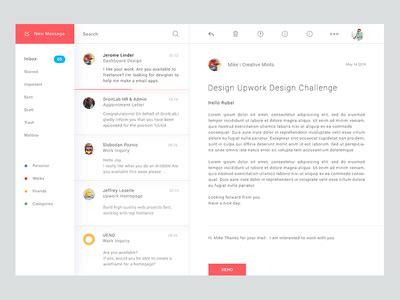 pattern javascript email mail apps by masudur rahman dribbble