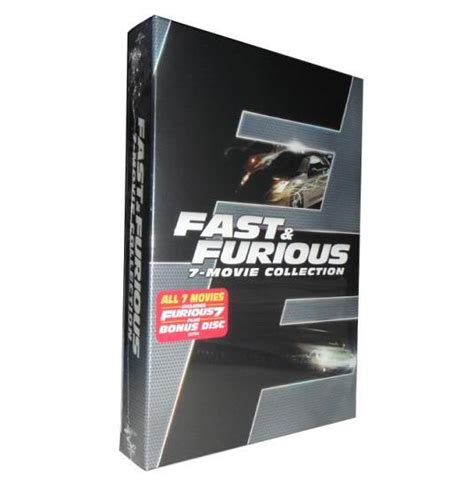fast and furious box set 1 6 fast and furious 1 7 dvd for sale fast and furious box set 1 7