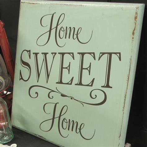 home sweet home sign diggin it