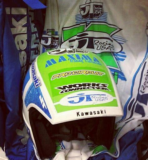 kawasaki motocross helmets lechien kawasaki helmet replica mx helmet