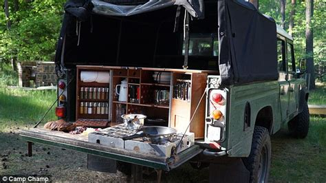 Ultimate Bed Plans Kitchen In A Box Camp Champ Gives Chefs All The Tools They