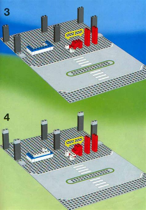 lego  airport shuttle instructions town