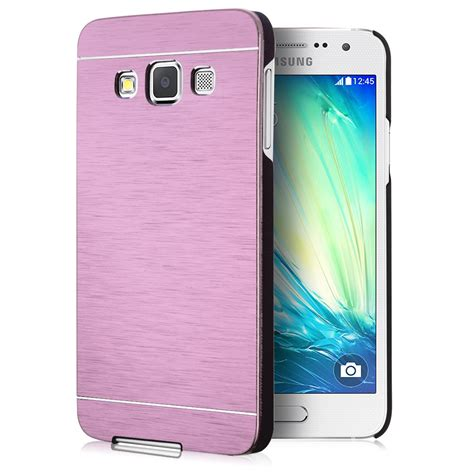 Luxury Aluminium Bumper Mirror Samsung A3 A300 A3 20 Berkualitas luxury metal aluminum brushed pc back cover for samsung galaxy a3 a7 ebay