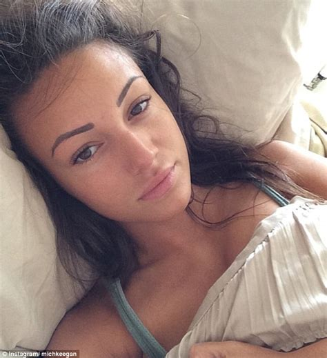 masterbating before bed michelle keegan shares make up free selfie for cancer