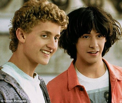 bill and ted reunited! keanu reeves and alex winter back