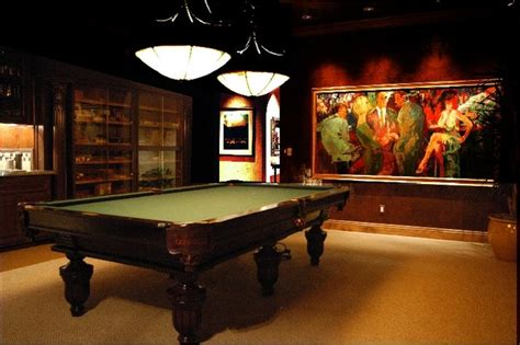 Dining Room Tables With Built In Leaves by Cigar Rooms Mediterranean Las Vegas By Interior Art