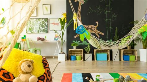 como decorar un salon de selva decoraci 243 n selva para zona de juegos hogarmania
