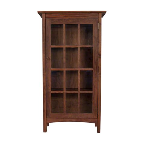 bookshelves doors vermont made wooden shaker bookcase with glass doors