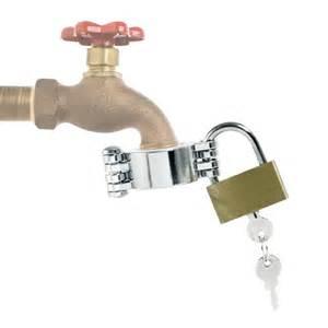 locks for outdoor water faucets orbit outdoor hose bib faucet lock