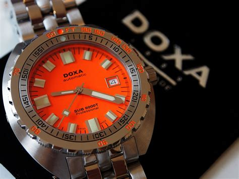 doxa dive doxa sub 6000t announcement