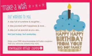 birthday coupon template free printables make a wish birthday coupons big dot of
