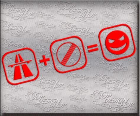 Autoaufkleber Spr Che Schweiz by Autobahn Aufkleber Tuning Szene Car Decal Sticker