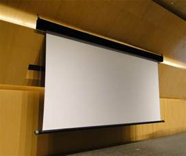 Motorised Projector Ceiling Mount by China Large Electric Projection Screen Photos Amp Pictures