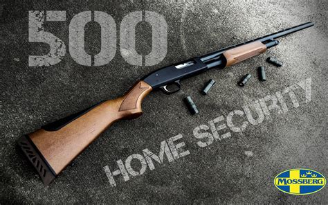 mossberg 500 home security wallpaper by dhrandy on deviantart