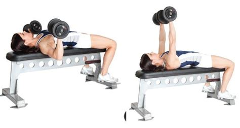 bench press and dumbbell press exercises to lose weight from your upper body