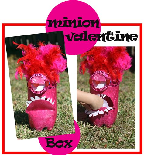 how to make a minion valentines day box minion box laughing and losing it