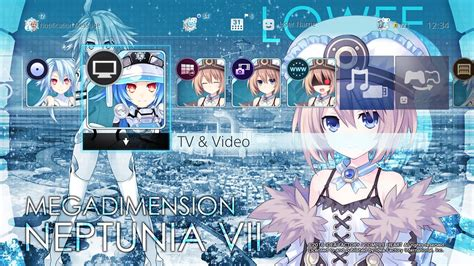 girl themes for ps4 megadimension neptunia vii ps4 themes are the closest
