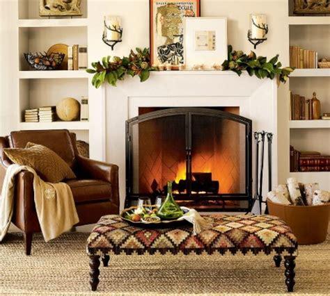 Living Room Mantel Ideas - exciting fall mantel decor ideas living room