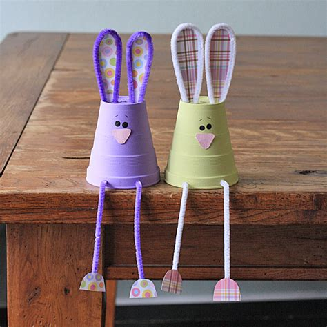 Craft Using Paper Cups - foam cup bunnies crafts by amanda