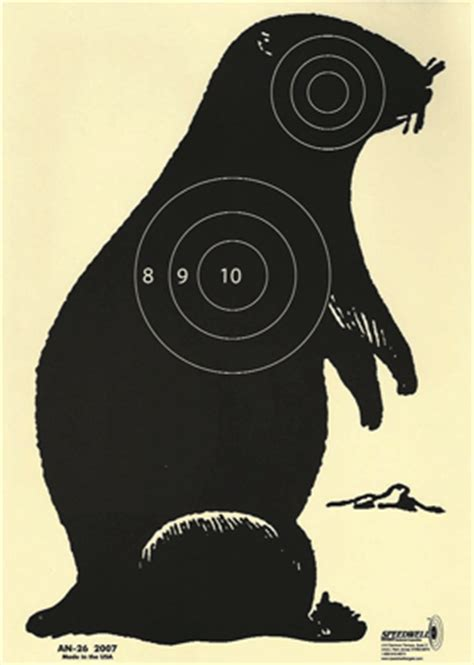 printable animal bb gun targets animal targets