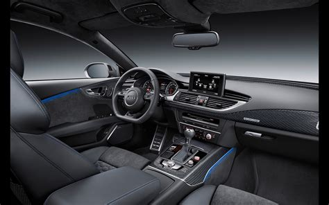 Interior Home Wallpaper 2016 audi rs7 sportback performance interior 6
