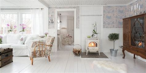 Nordic Cottage by Cottage Interior Achieved With Simple Colors And